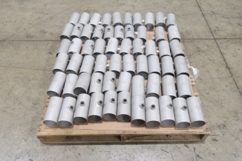 1 PALLET OF 3X3-1/4IN T, PICOR FOOD GRADE PIPE FITTINGS, SCH 5S, 316SS
