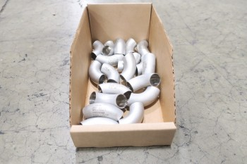 1 PALLET OF 3/4IN PICOR FOOD GRADE PIPE FITTINGS, SCH 5S, 316SS
