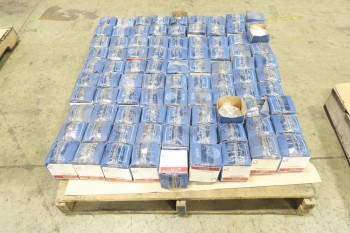1 PALLET OF 3/4IN PICOR FOOD GRADE PIPE FLANGE FITTINGS, SCH 5S, 304SS, 304-304L-BELD