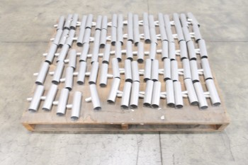 1 PALLET OF 1-1/2X1/2IN BESTWELD FOOD GRADE PIPE FITTINGS, SCH 5S, 304SS
