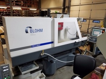 BLOHM PRECIMAT 306 CNC SURFACE, CREEP FEED & PROFILE GRINDER, NEW 2006