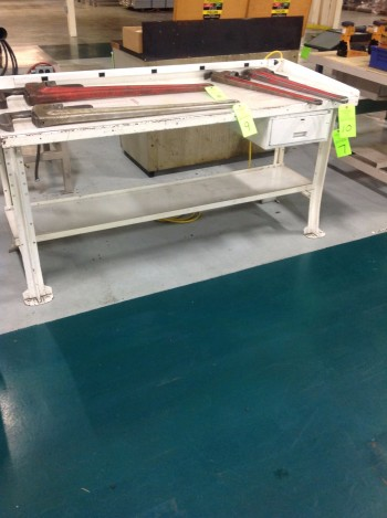 lot of Metal work benches