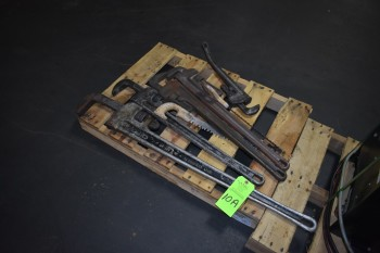 Lot of (5) misc. Pipe Wrenches