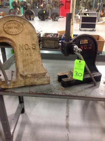 Greenerd And Dayton Arbor presses