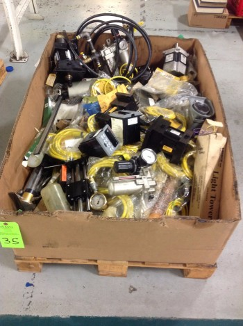Lot of various New fused Hydraulic Componets