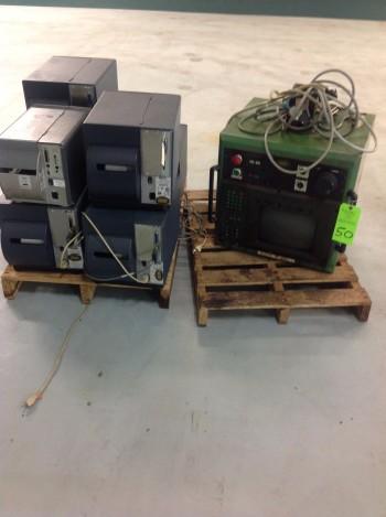 Skid of Printers, Bosch Control Panel