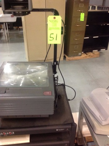 Lot of Misc. Office supplies, Cabinet w/ Microwave, Overhead Projector, HP Scan Jet Printer