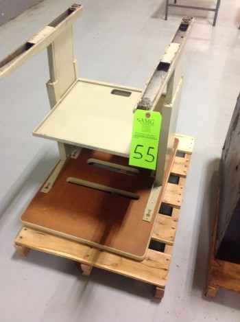 Lot w/ (3) Metal Desks, various office furniture