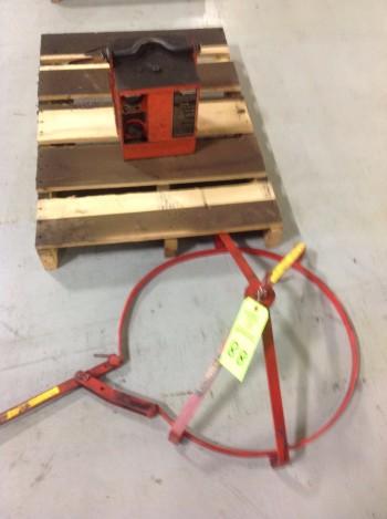 2,000LB Max Cap. Magna Tool Magnet Lift, Wesco Barrel Lift
