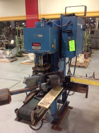 6 Ton Abex  Denison Multipress C-Frame Hyd. Press, Model WR065LC364F, s/n:25472