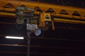 Coffing 1Ton crane hoist w/ P&H pendant Controller