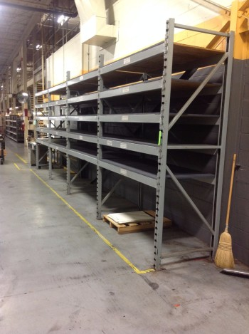 Heavy duty metal racks,