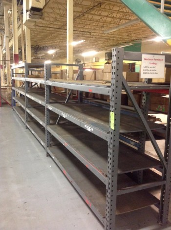 Metal Heavy duty pallet racks,