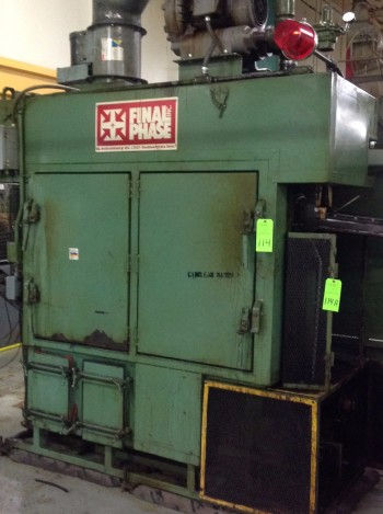 ASE final Phase Heat & Wash Tank,