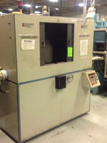 Excell Control Laser Mark Machine w/Chiller