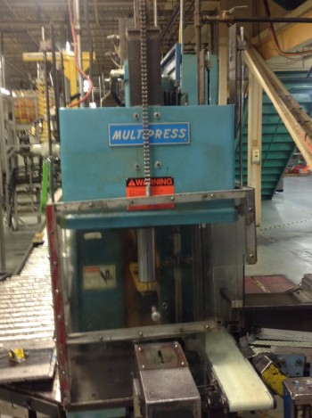 Denison Multipress w/ conveyor feed