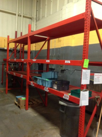 Heavy duty metal Racking