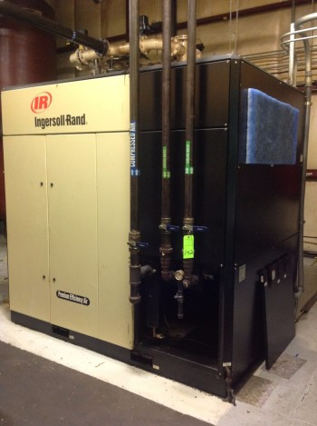 200 H.P. Ingersoll Rand Complete Air compresser system.