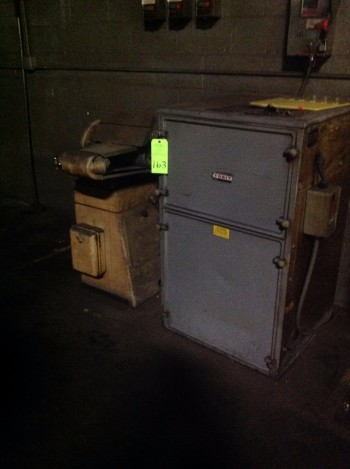 Lot w/ Rockwell International Disc & Belt Sander w/ Torit Dust collector
