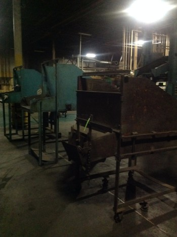 Lot of (3) Hydraulic Hoppers