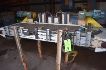 Lot of 3 motorized Conveyors