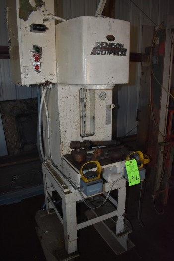 Denison C frame Hyd press. RO-4