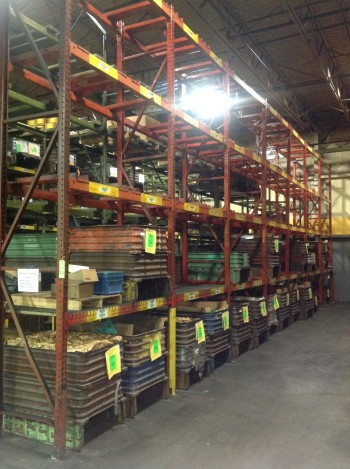 Lot heavy duty Metal Pallet Racking