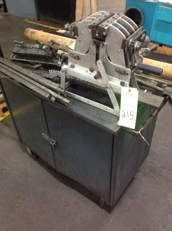 Clipper portable Belt Splicer w/ cabinet