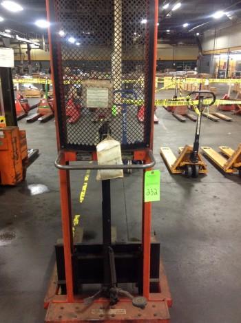 Presto Hydraulic Lift, 1,000lbs cap.