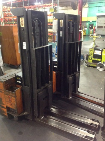 Lot of (2) Rico Electric Pallet lifts w/batteries