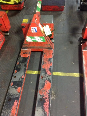 Lot of (8) Electric Thork-Lifts