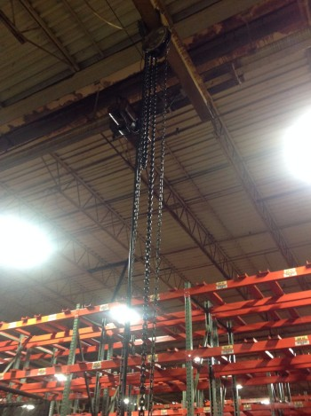 Power Chain Hoist, 1-Ton
