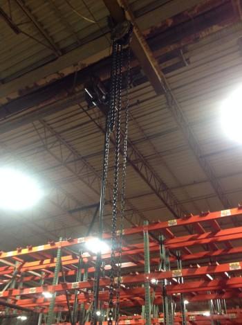 Power Chain Hoist, 1-Ton