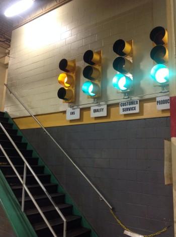 Lot of (4) Full sized Traffic Lights w/ Controls