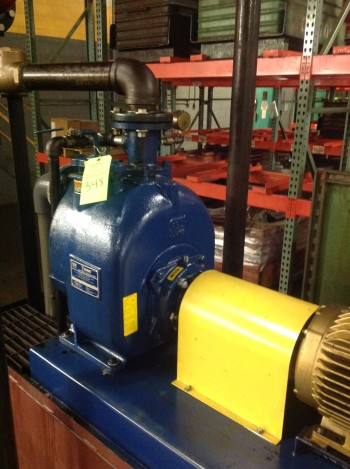 Gorman-Rupp model T3A815 Super Self Priming Centrigugal pump,