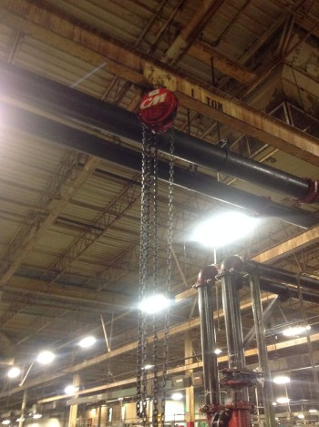 1 Ton CM Cyclone Chain Fall