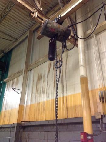 1 Ton CM Loadstar Electric Pendant Hoist