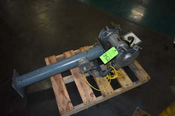 Lot of (3) Double end Pedistal Grinders, Wilton 1HP, Jet 1.5HP, .5HP