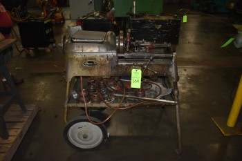 Rigid model 535 Portable manual Pipe & Bolt Threading machine, s/n:EC03904