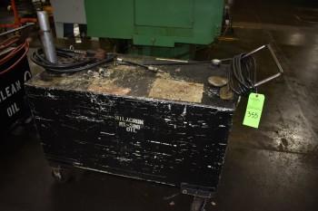 Lot of (3) Portable Oil Pump carts