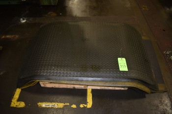 Lot of cushioned Rubber Mats, 3\'x5\' approx.