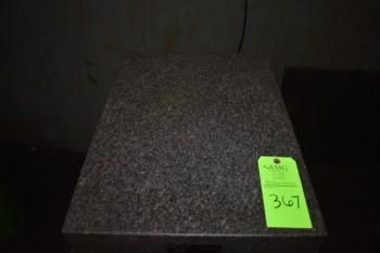 True Stone Black Granite table w/stand 18\