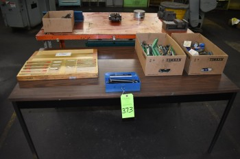 Lot of Misc, Taps, Drill, Cutters and more