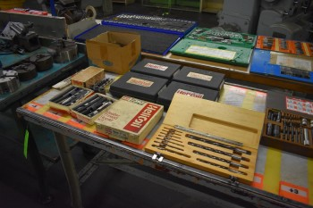 Lot of Misc Mill end, Thread repair kits, Springs