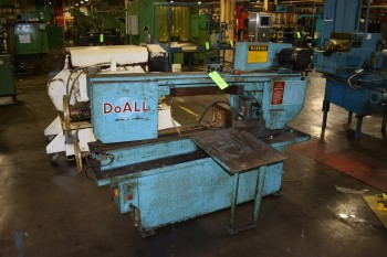 Do-All Horizontal Power Band Saw, Model C-916, s/n:47090888