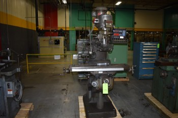 Bridgeport series 1, 2HP Vertical Mill, 9\