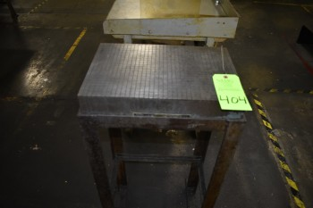 Steel Plate w/stand 12