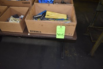 Lot of misc. Toolroom Tooling, (3) Tables & Contents on top