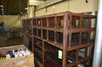 Lot of Steel Racking, Tool Room