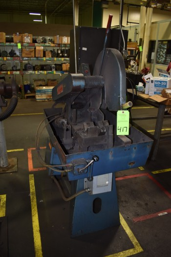 Everett Metal Chop Saw #14-16, s/n:9426, 45\
